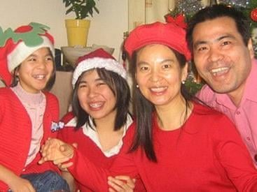 Du stabbed Jeff Ding, his wife Helen and daughters Nancy and Alice a total of 51 times. Photo: Northamptonshire Police