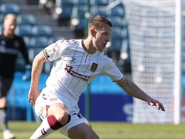 Bryn Morris' loan ends next month. He's also out of contract at parent club Portsmouth in the summer.