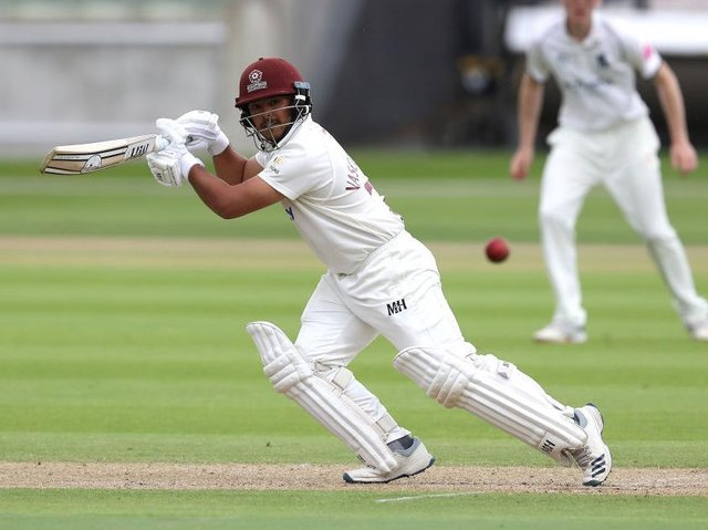 Northants batsman Ricardo Vasconcelos