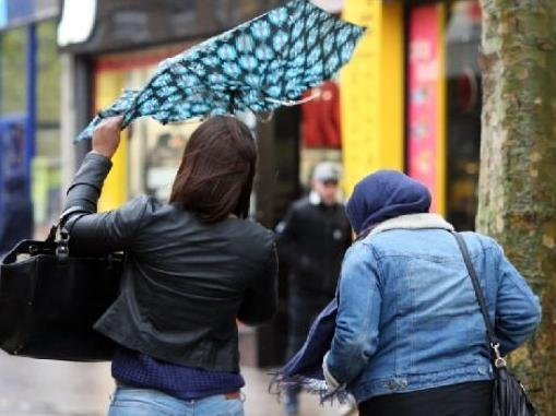 Wind and rain features heavily in Northamptonshire's weather forecast for the next week or so