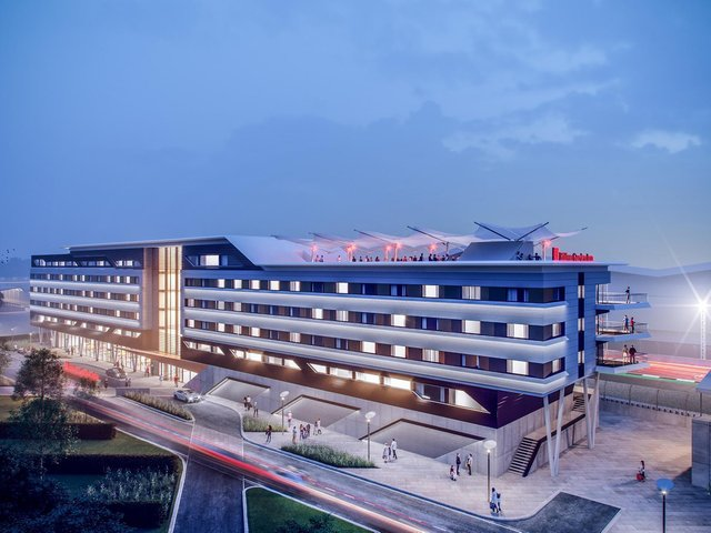 How the Hilton Garden Inn Silverstone will look once completed