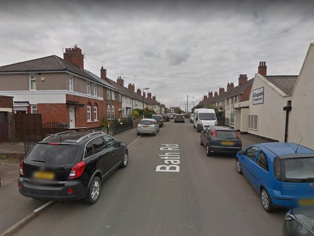 The attempted burglary took place at a business premises in Bath Road, Nuneaton.