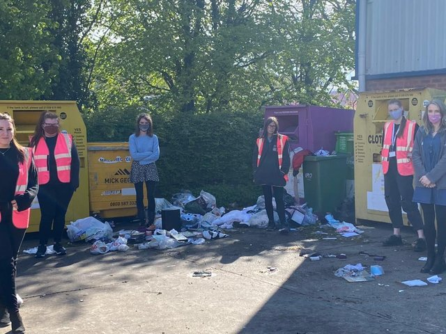 Staff at the Daventry warehouse are 'heartbroken' following this week's break-in. Photo: @WNDLRAirAmb