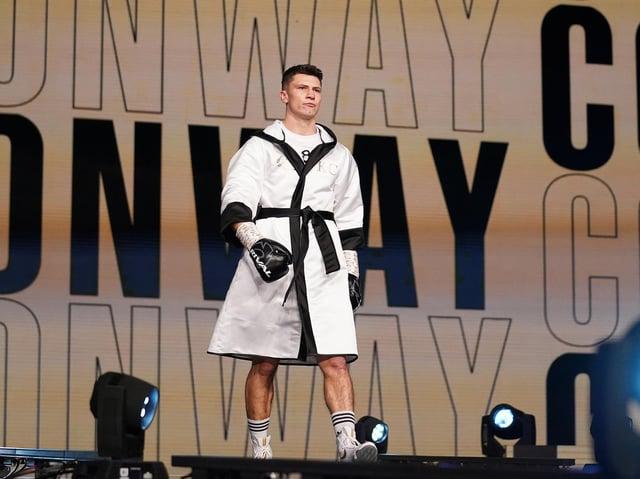 Northampton boxer Kieron Conway