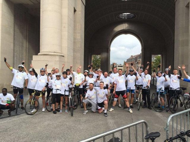 The Ride for Hope will take place in England this year. (File picture from previous year).