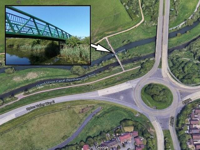 Police Two 12-year-olds were approached on the green bridge in Upton Country Park