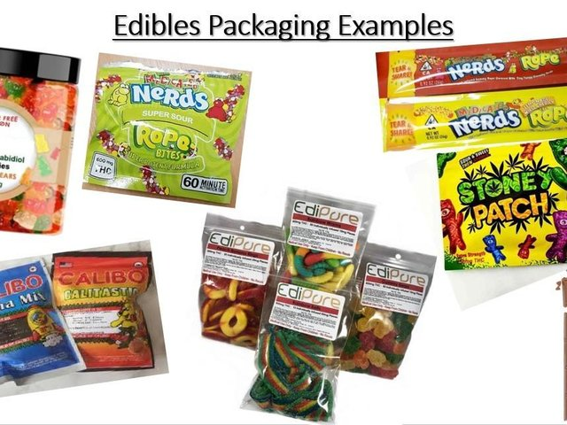 Police warn parents to look for THC or CBD on the packaging of their children's candy.  Image: Northamptonshire Police