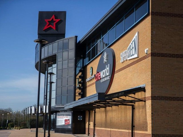 Cineworld in Sixfields will be reopening on May 17. Photo: Kirsty Edmonds