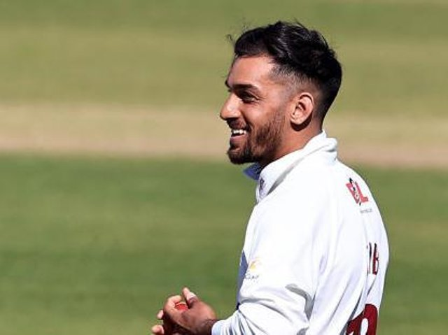 Saif Zaib was delighted to score his first century for Northants
