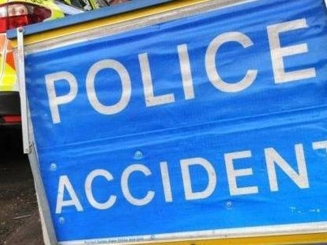 emergency services are dealing with a three-vehicle pile-up on the A14 near Thrapston