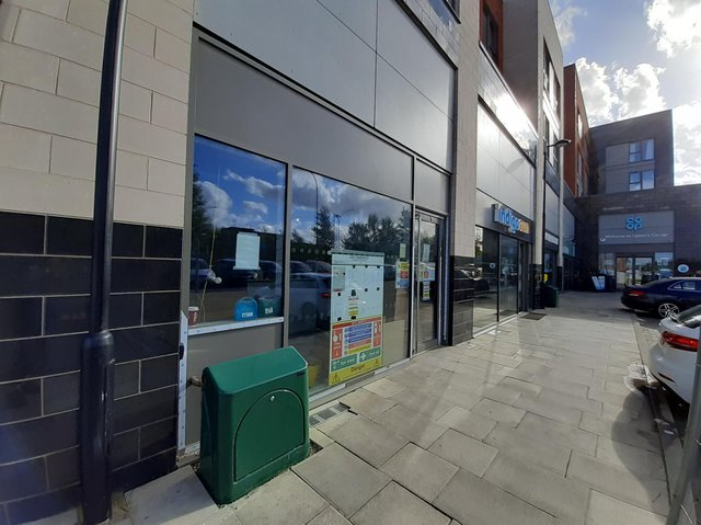 Domino's Pizza will be moving into unit 5 at Upton Shopping Centre. No opening date has been confirmed as of yet