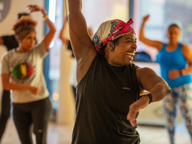 Zumba is one of the many classes that will be able to restart from Monday (May 17). Photo: Everyone Active
