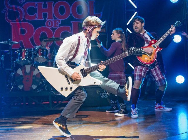 School of Rock will visit Northampton in November 2021.