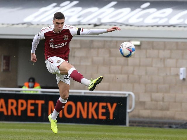 Cobblers defender Lloyd Jones has been offered a new deal to stay at the club