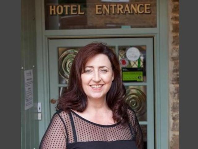 Susan Henderson, owner of The Poplars Hotel in Moulton