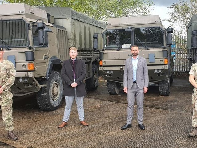 The recruitment company has signed an agreement to ensure ex-military personnel do no face discrimination.