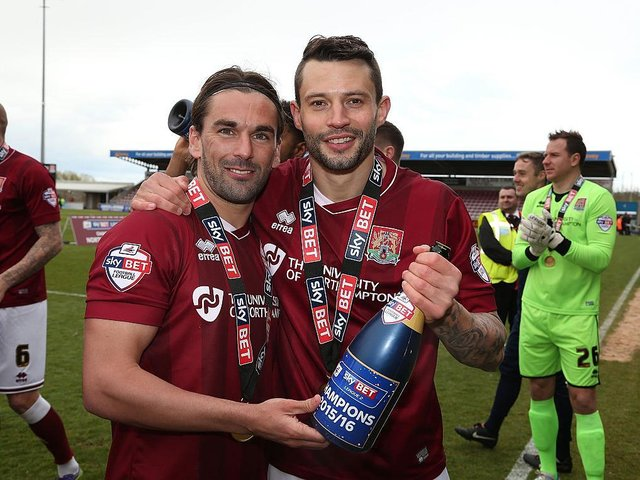 Marc Richards, now first-team coach at the Cobblers, knows what it takes to win promotion.
