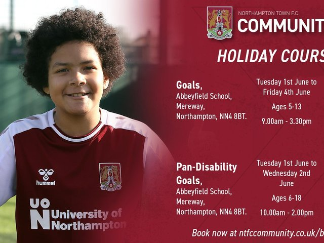 NTFC holiday courses.
