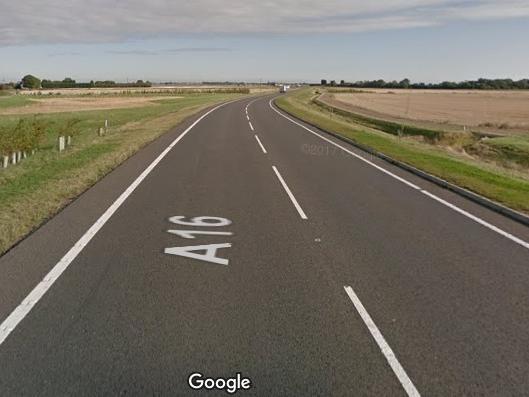 A stretch of the A16 in Newborough, Peterborough. Photo: Google Maps