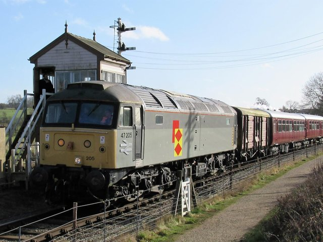 Vintage diesels will be back on the rails as Northampton & Lamport Railway opens up this weekend