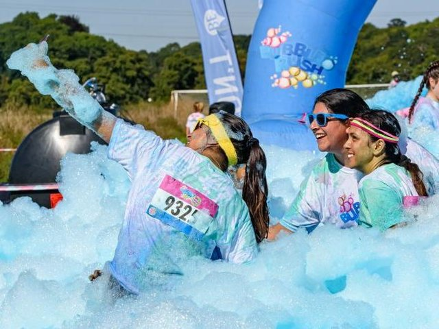 Bubble Rush will be 'fun for all the family.'