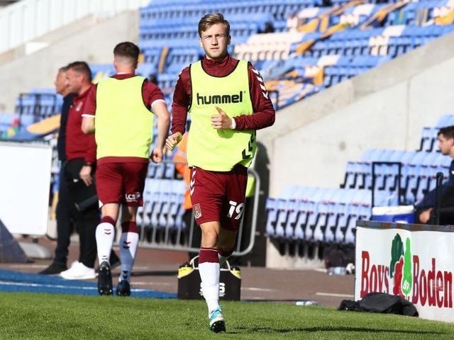 Morgan Roberts failed to make a League start in his three years at the Cobblers