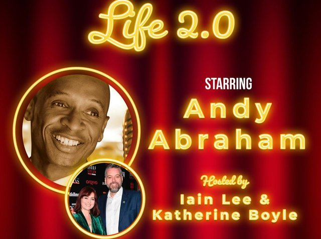 Poster for all-star variety show, Life 2.0.