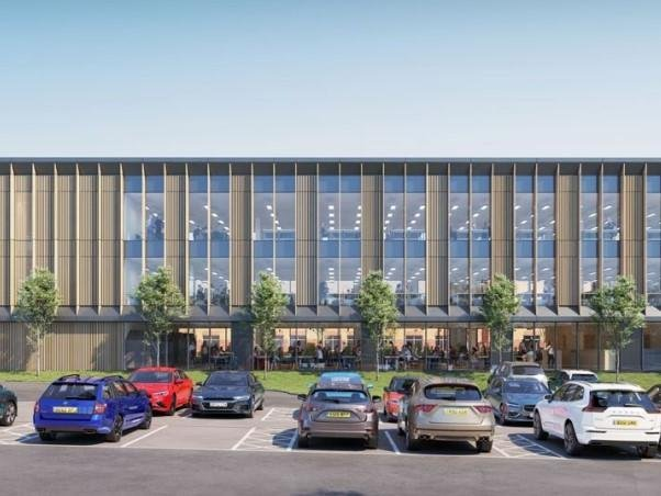 An artist's impression of what the new HQ could look like