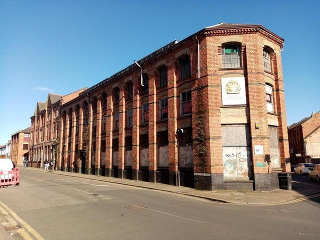 The former GT Hawkins factory in Overstone Road has been shut since 2000.
