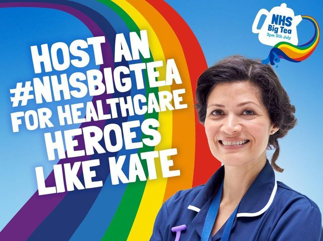 Big Tea day is part of a national celebration to mark the NHS birthday