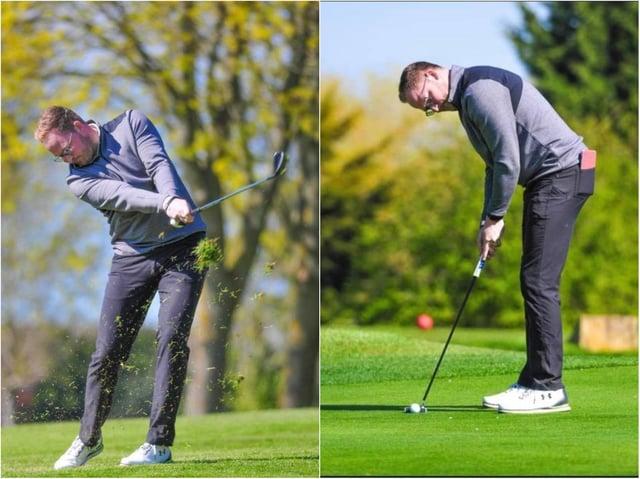 David Poolton, head professional at Kingsthorpe Golf Club.