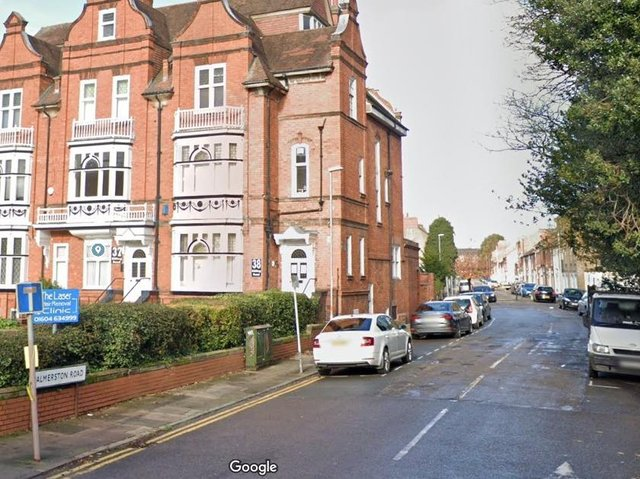 The incident happened at around 8pm in Palmerston Road