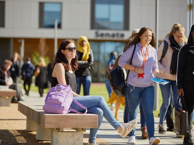 The university of Northampton has pledged to support estranged students.