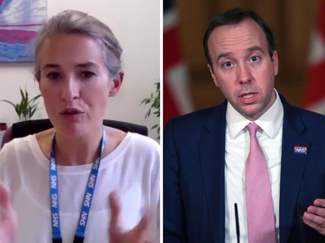 Health chief Lucy Wightman admits Friday's change has gone 'under the radar' with no announcement from Matt Hancock