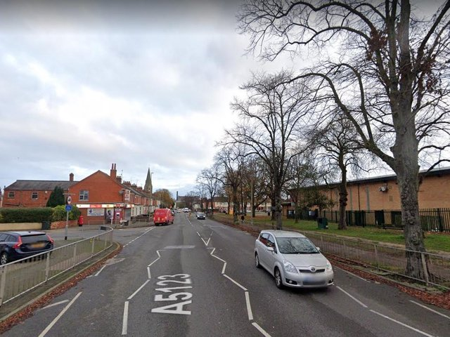 The brutal attack took place on Towcester Road near the Far Cotton REC Centre