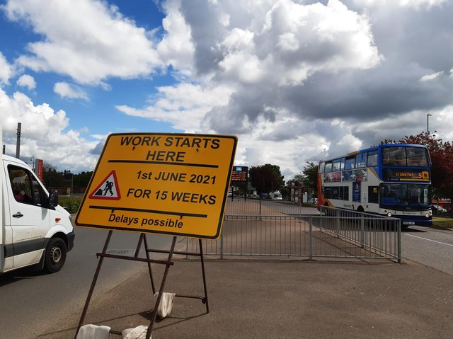 The works are set to begin on June 1 outside Weedon Road Retail Park