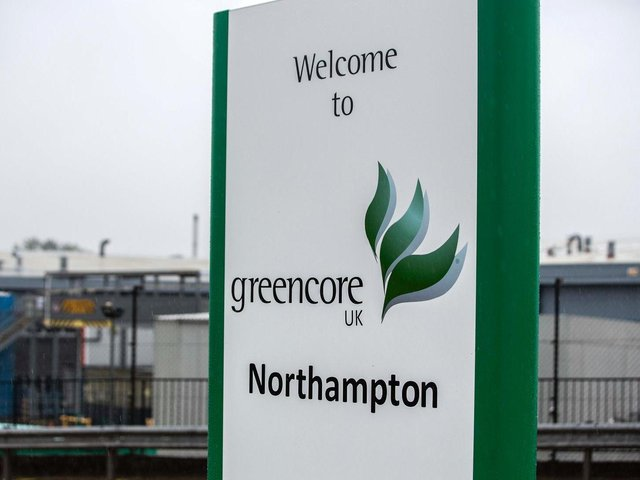Greencore employs 1,800 workers at its Moulton Park operation