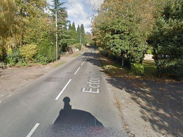 The fatal accident happened on a stretch of Ecton Lane in Sywell, just metres from Mr Groome's home
