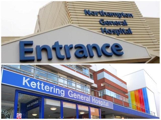 Nearly 300 patients died having caught Covid-19 after being admitted to Northamptonshire's two main hospitals