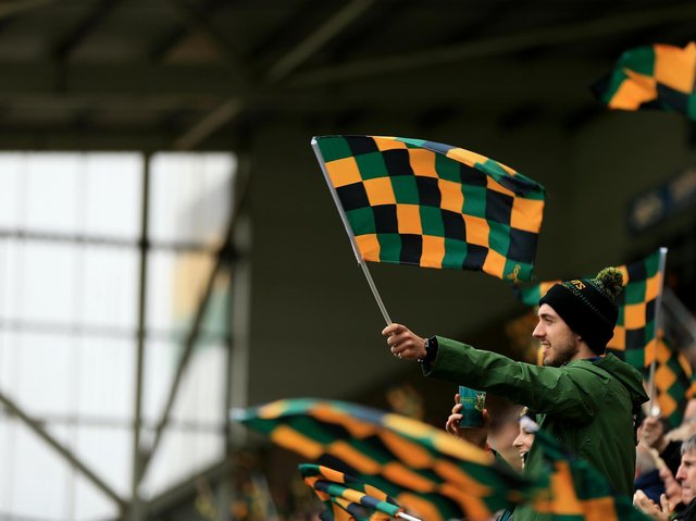 Franklin's Gardens will welcome fans for the first time since December