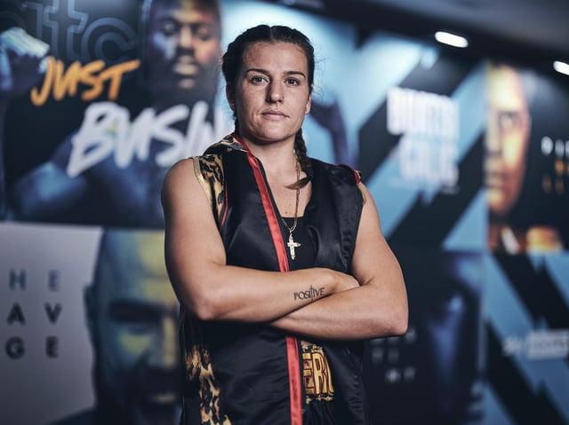 Northampton boxer Chantelle Cameron
