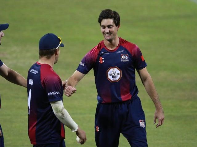 Brandon Glover werd door Nederland opgeroepen voor een ODI-reeks van drie wedstrijden in Utrecht volgende week