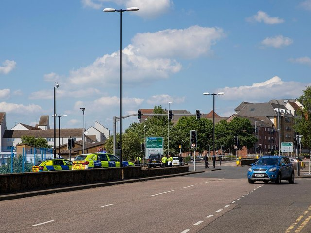 A pregnant woman and her unborn child have tragically died following a collision in Northampton town centre.