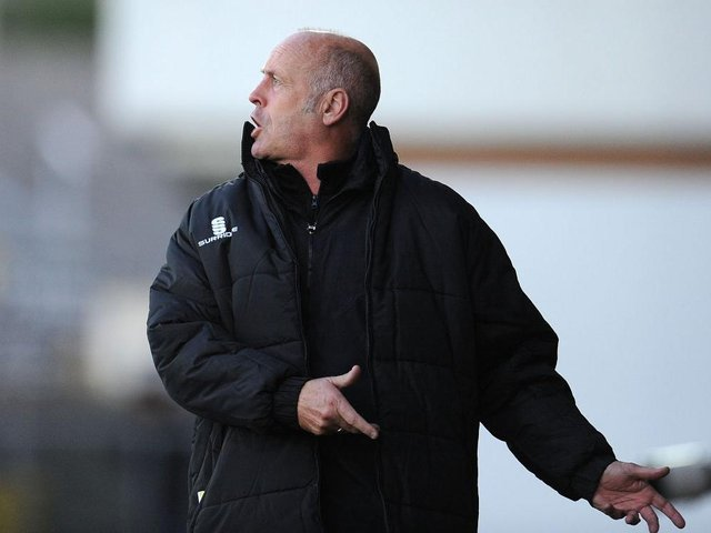 Martin Foyle during his days in charge of Hereford.