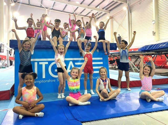 Classes are back up and running at the Northampton trampoline centre.