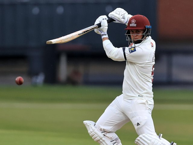Ben Curran has lost his place at the top of the Northants order for their trip to Kent