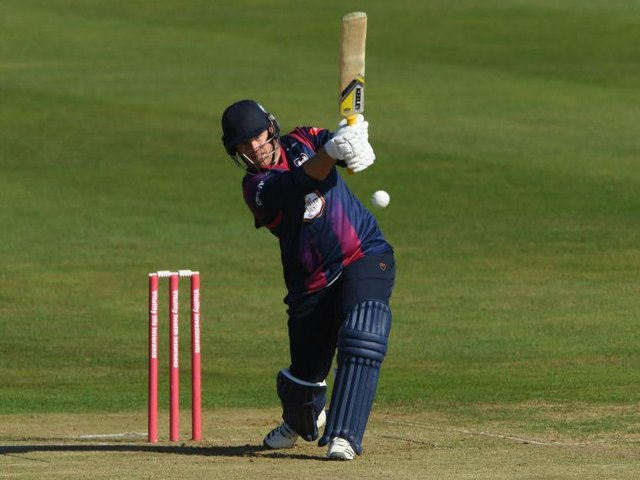 Richard Levi clubbed 98 from just 46 balls as the Northants IIs beat Gloucestershire IIs in a T20 friendly on Tuesday