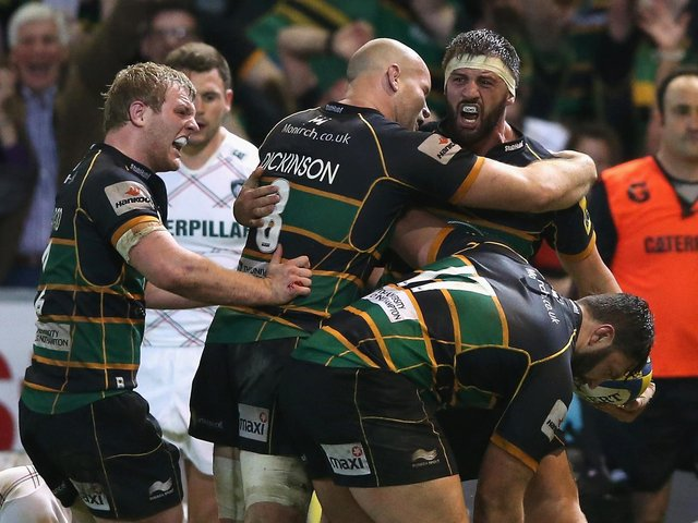 Tom Wood will hope to deliver more memorable moments for Saints next season