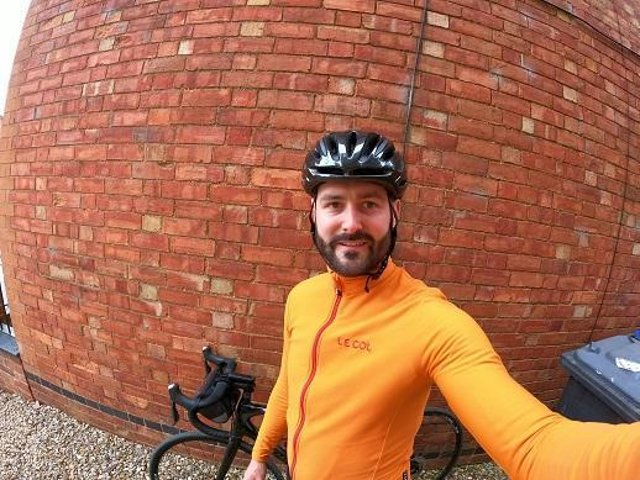 Matthew Holme will be cycling from Lands End to John O'Groats in September for the British Heart Foundation