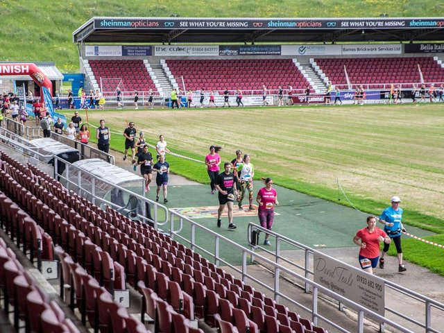 The first Northampton 10K on June 6 where around 1,000 people took part. Photo: Kirsty Edmonds.
